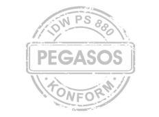 PEGASOS erhält Bescheinigung für IDW PS 880 Konformität
