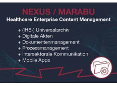 MARABU präsentiert Healthcare-ECM auf der DMEA