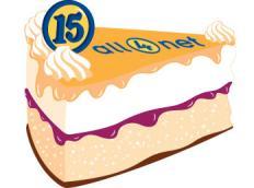 15 Jahre all4net - Wir feiern Geburtstag