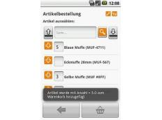 Mobile Sales-App mit Katalogfunktion für den modernen Außendienst